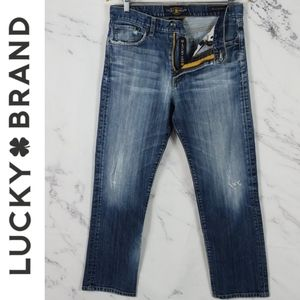 Distressed Rare Italian Denim 329 men's Lucky